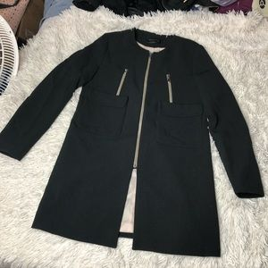 Elegant Front Pocket Coat!
